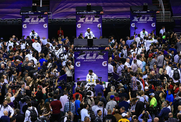 Super Bowl Media Day :: Getty Images