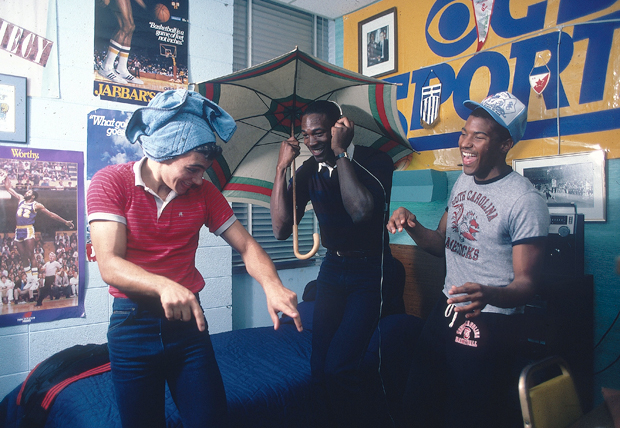 Michael Jordan and friends (1983) :: Lane Stewart/SI