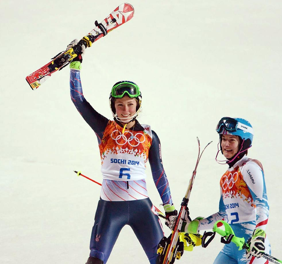 Shiffrin is the first American woman to get a slalom medal of any color since Barbara Cochran won gold at the 1972 Sapporo Olympics. (AP)