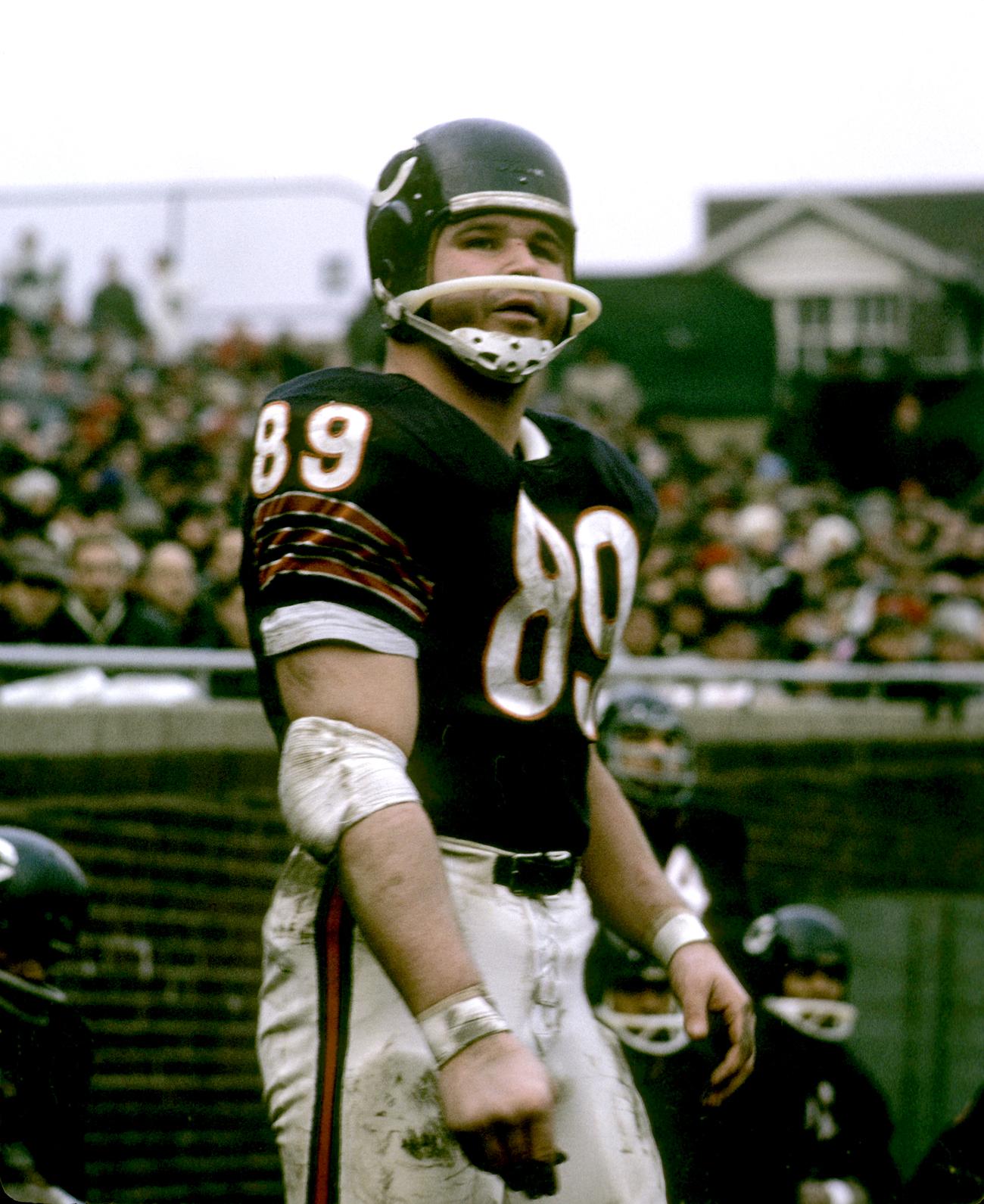 Ditka, Bears, 1965.