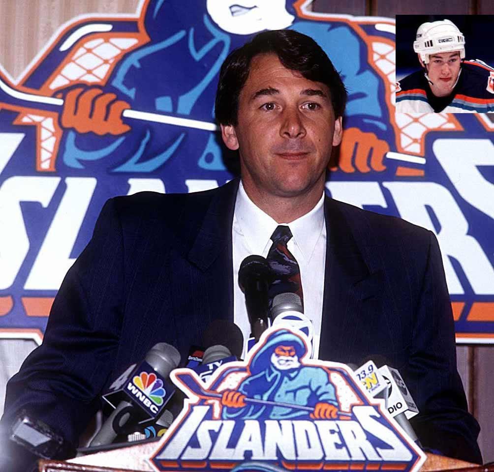 """The kid's playing like he's sniffing glue.""—on Islanders defenseman Eric Brewer (inset) in 1998."