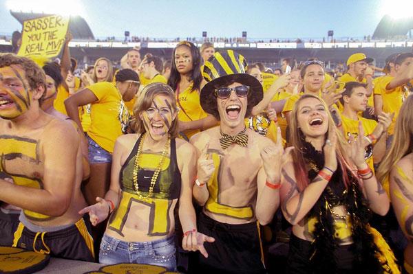 Missouri fans :: Icon Sportswire