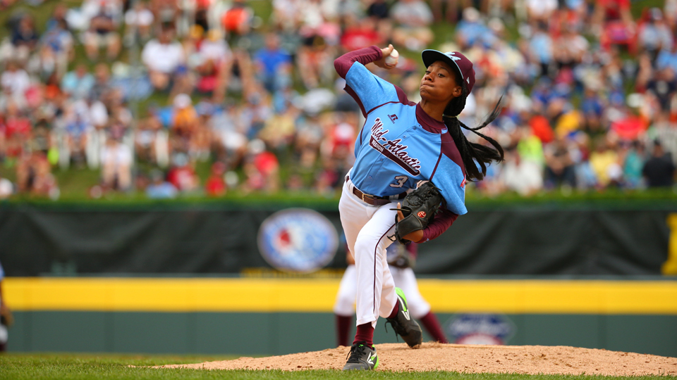 Thirteen-year-old sensation Mo'ne Davis, who plays for Philadelphia's Taney Dragons, has captured the nation's attention with her performance at the Little League World Series.