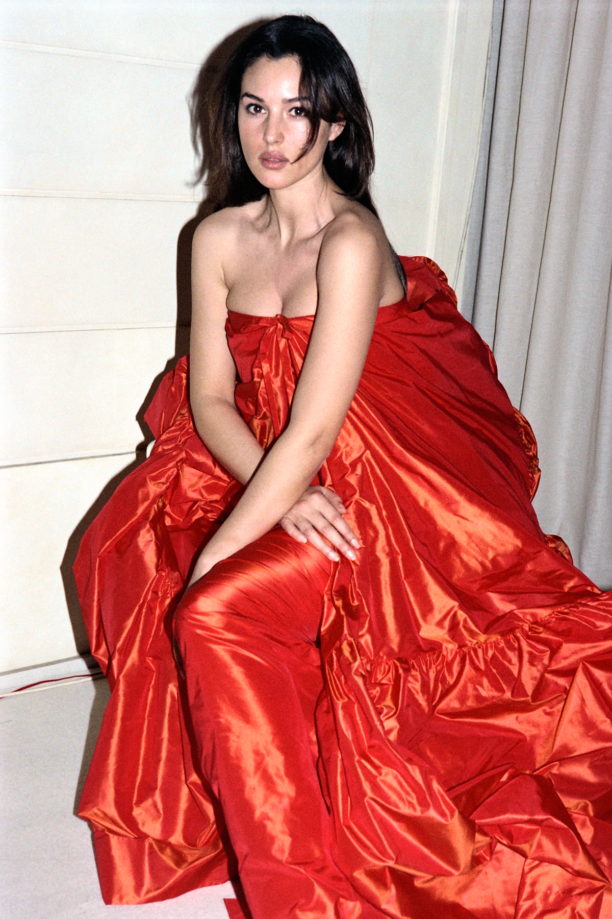 At Paris Fashion Week, 1993
