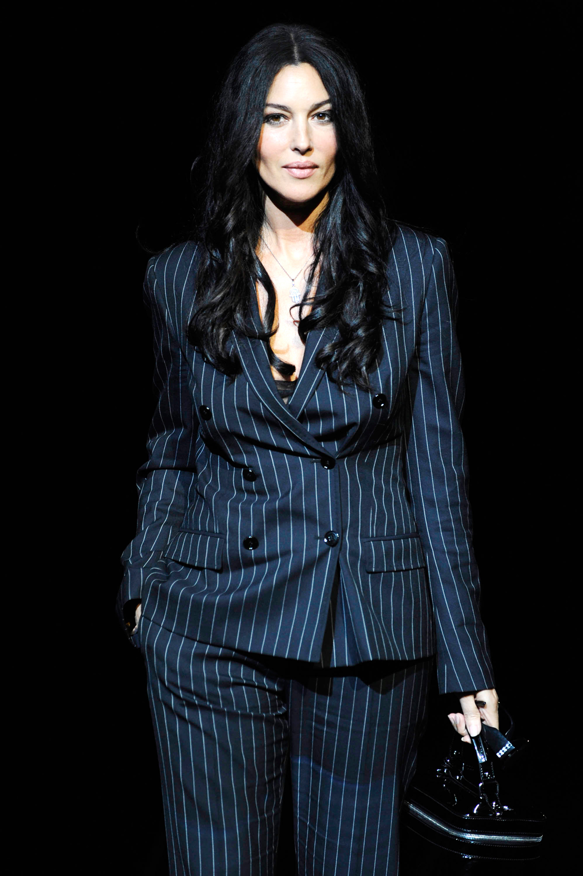 On the runway for Dolce & Gabbana at Milan Fashion Week, 2008