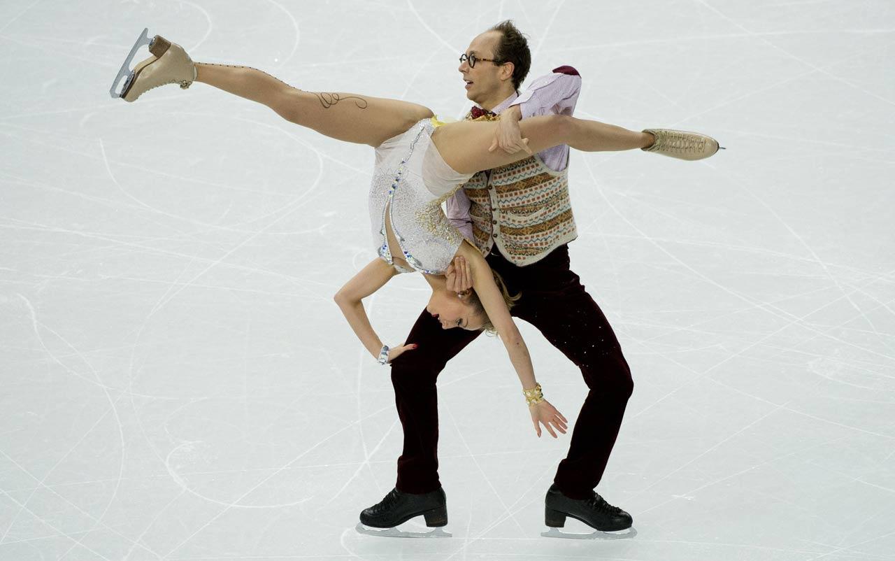 Nelli Zhiganshina and Alexander Gazsi of Germany.