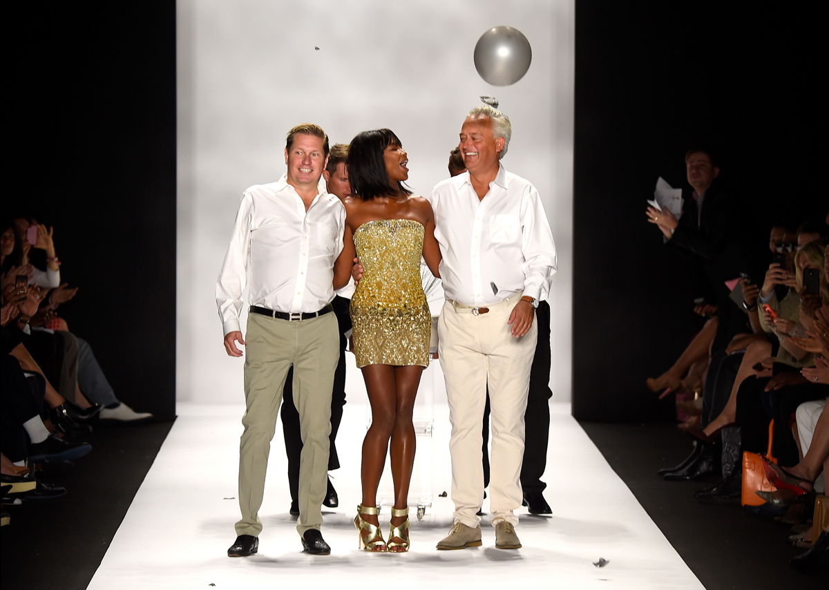 Naomi Campbell at Mark Badgley and James Mischka