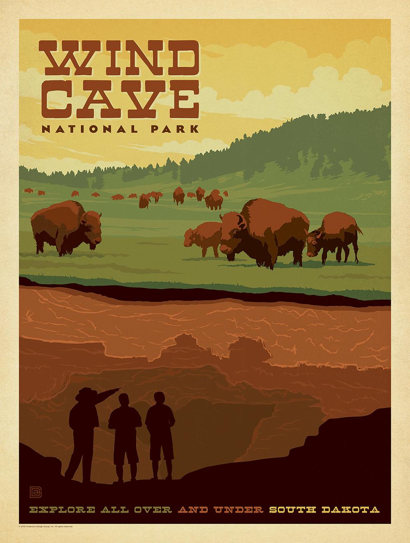 National Park no. 6, South Dakota, established in 1903