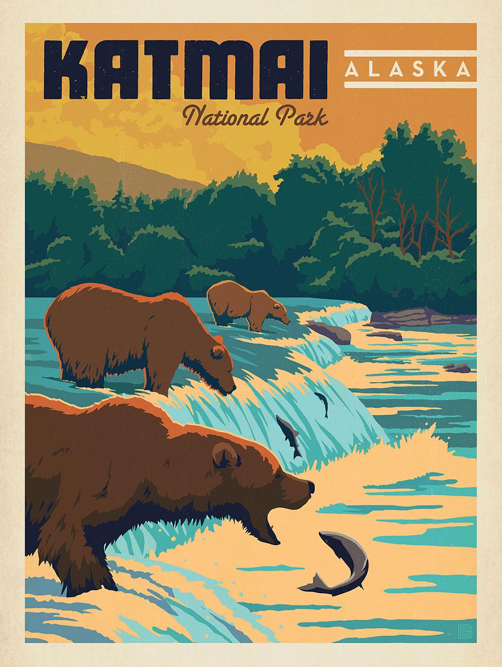 National Park no. 44, Alaska, established in 1980