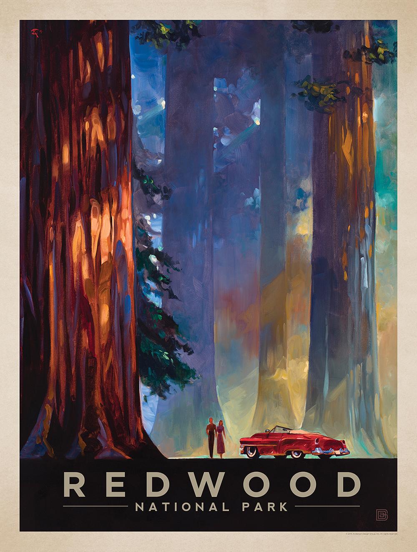 National Park no. 33, California, established in 1968