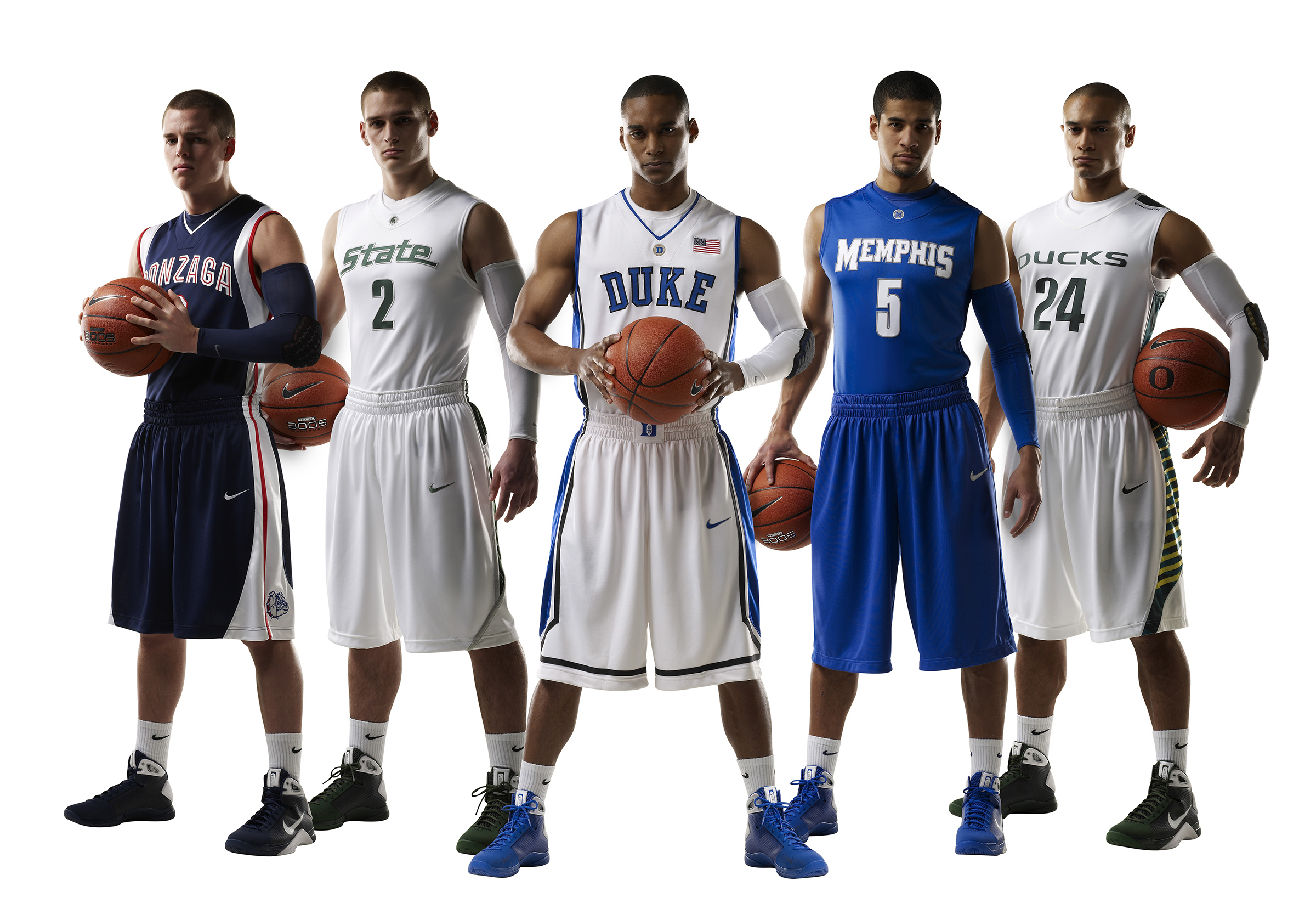 The evolution of Nike s college basketball uniforms  14628a63a