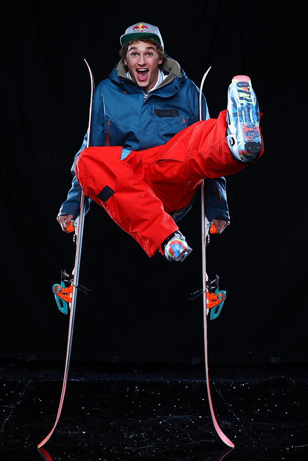 A 19-year-old freeskier, Goepper is coming off a big 2013 in which he earned gold at X-Games Aspen, won the Association of Freeskiing Professionals slopestyle title, placed third at the FIS World Championships, and graduated high school. Nick Goepper's Facebook page.