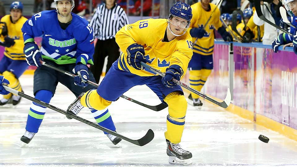 Nicklas Backstrom missed Sweden's 3-0 loss to Canada in the gold-medal game of the men's hockey tournament Sunday.