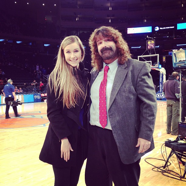 Noelle and Mick Foley :: @noellefoley/Instagram
