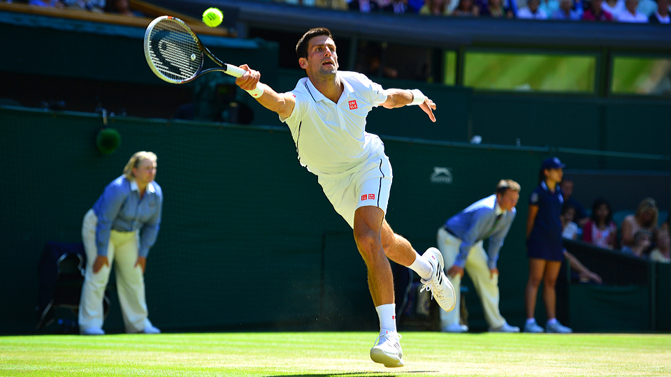 Novak Djokovic is chasing his first Grand Slam victory since winning the Australian Open in 2013.