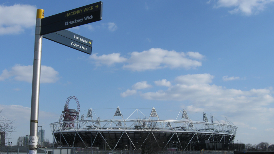 Queen Elizabeth Olympic Park is in east London, traditionally the city's poorest area.