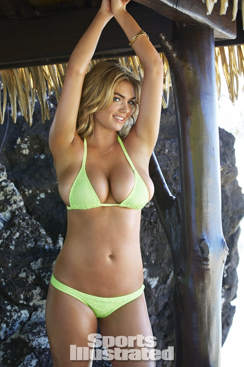 Kate Upton Was Photographed By James Macari In The Cook Islands Swimsuit By Ola Vida