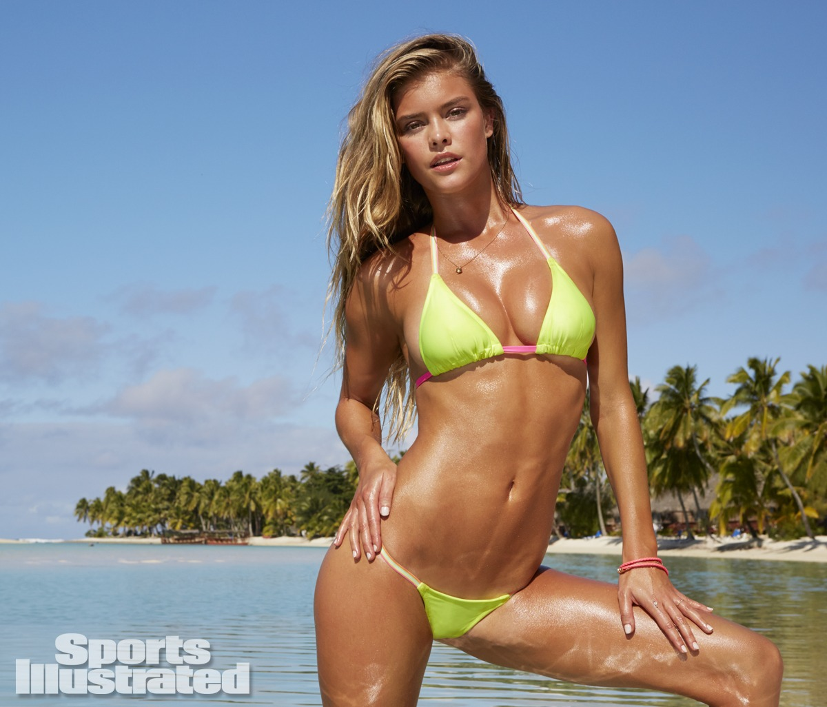 Nina Agdal 2014 Swimsuit: Cook Islands