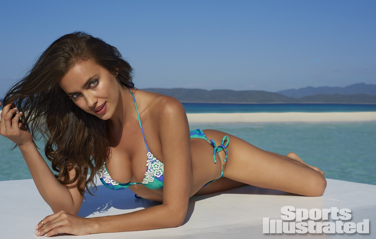 Irina Shayk was photographed by Derek Kettela in Madagascar. Swimsuit by Xhilaration for Target.