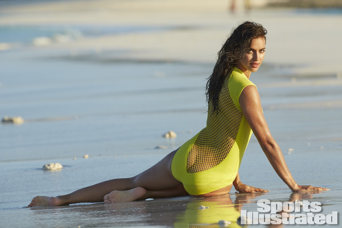 Irina Shayk was photographed by Derek Kettela in Madagascar. Swimsuit by Lenny Niemeyer.