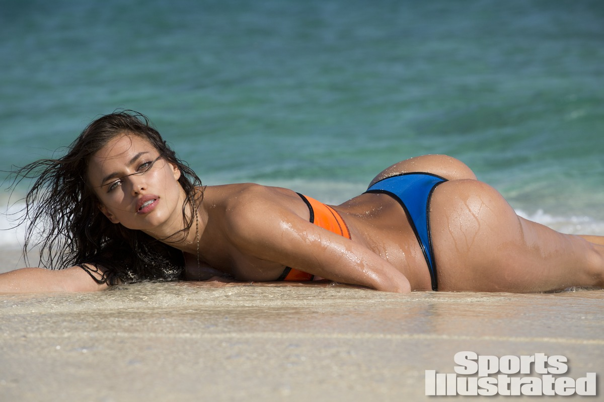 Irina Shayk was photographed by Derek Kettela in Madagascar. Swimsuit by Indah.