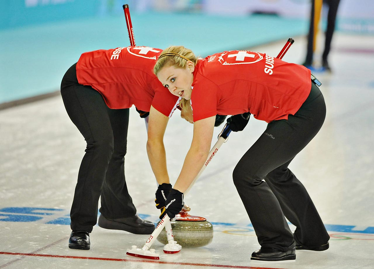Womens Round Robin in Curling.