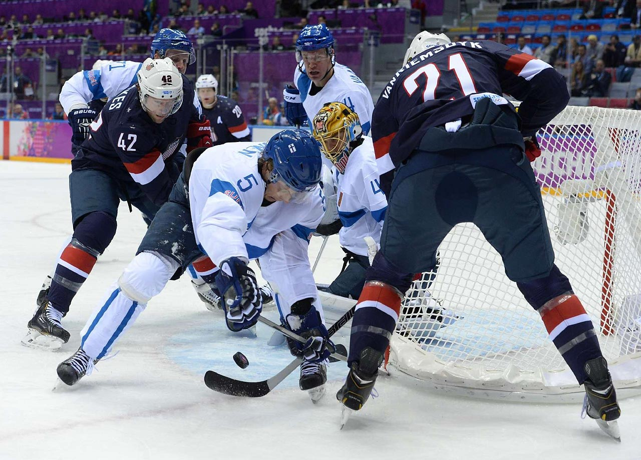 The Finnish Flash finished off his sixth Olympics with a sweet victory. Selanne scored two goals and Tuukka Rask had a 27-save shutout, helping Finland rout the United States 5-0 Saturday to win hockey bronze at the Sochi Games. Selanne and Jussi Jokinen scored 11 seconds apart early in pivotal second period. The Finns had three goals in the third against a team that looked like it would rather be at home.