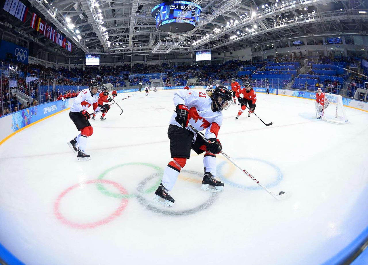 Canada will face the U.S. in the gold medal game. Canada and the United States played seven times in the run-up to the Olympics, with the Americans holding a 4-3 edge, but Canada defeated the U.S. in pool competition.