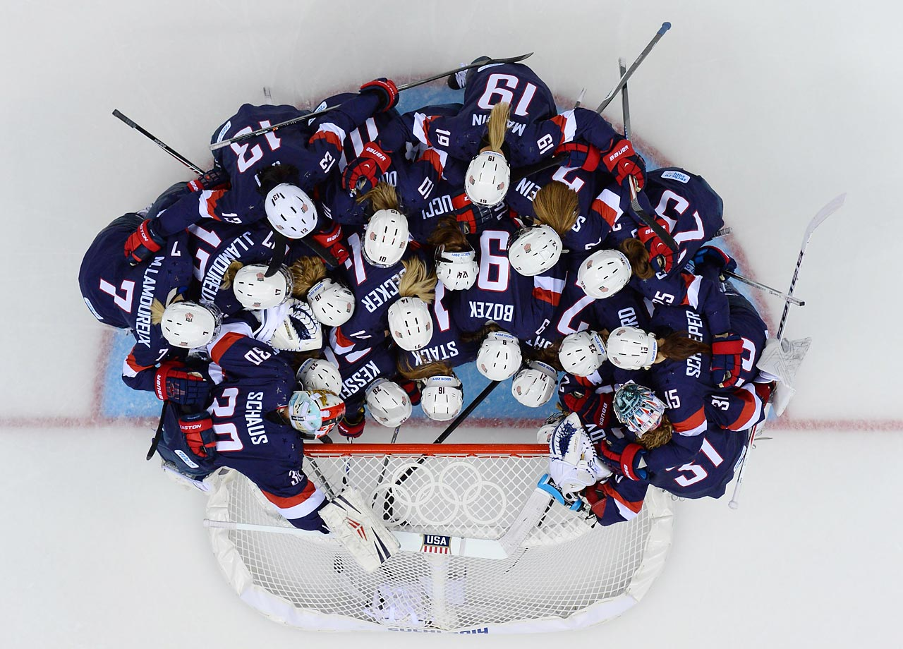The U.S. has medaled in every Winter Games since women's hockey was added in 1998. Nothing less than gold will make the team happy this year, given their silver medal finish four years ago.