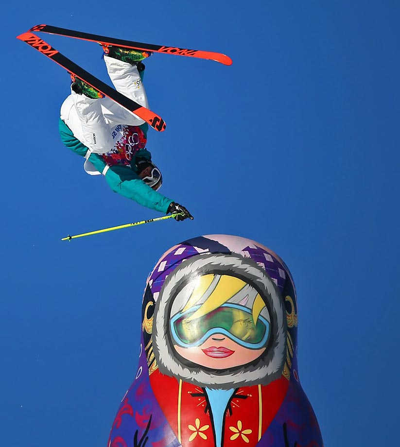 Mens Slopestyle Qualification.