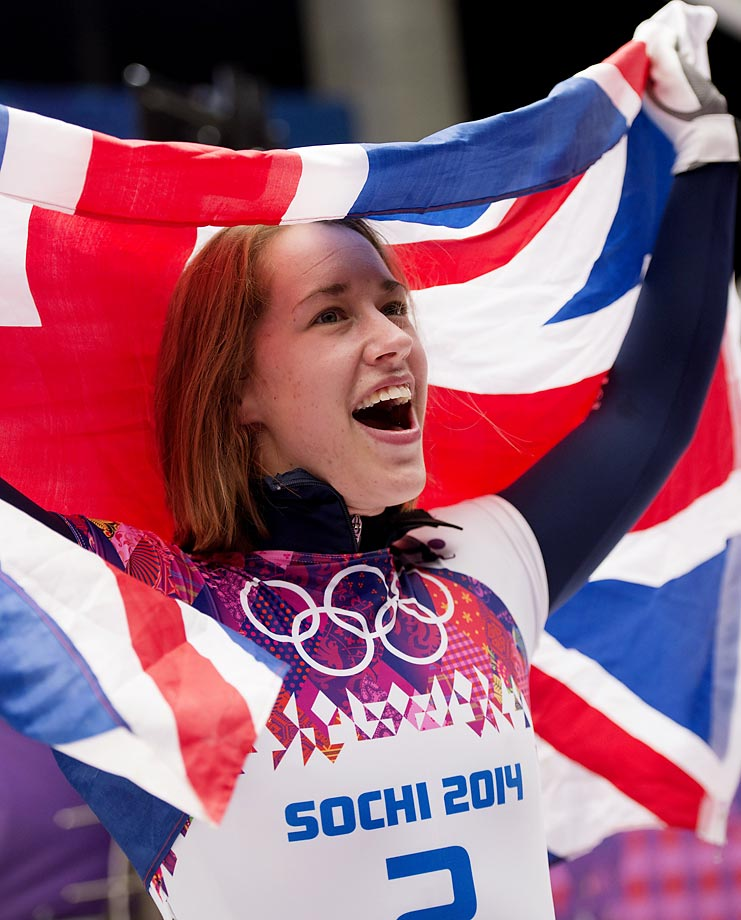 Elizabeth Yarnol won Britain's first gold at the Sochi Games with her performance in the skeleton.