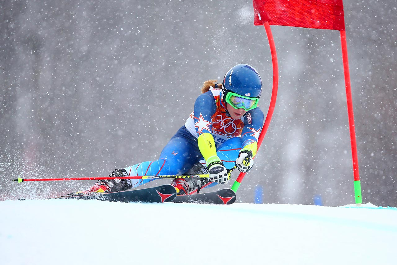 Mikaela Shiffrin of the U.S.