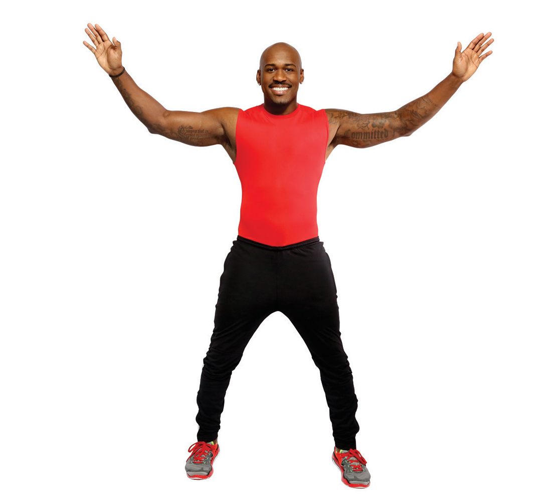 7. Jumping Jacks (30 seconds)