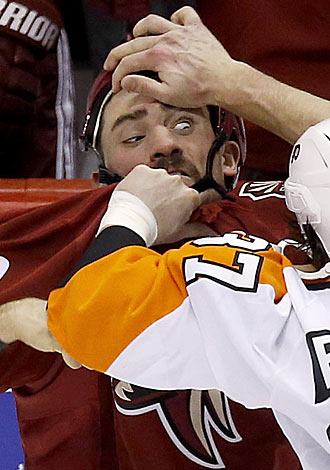 Beloved tweeter Paul Bissonnette is eyeing a grim reality in a slim market for muscle.