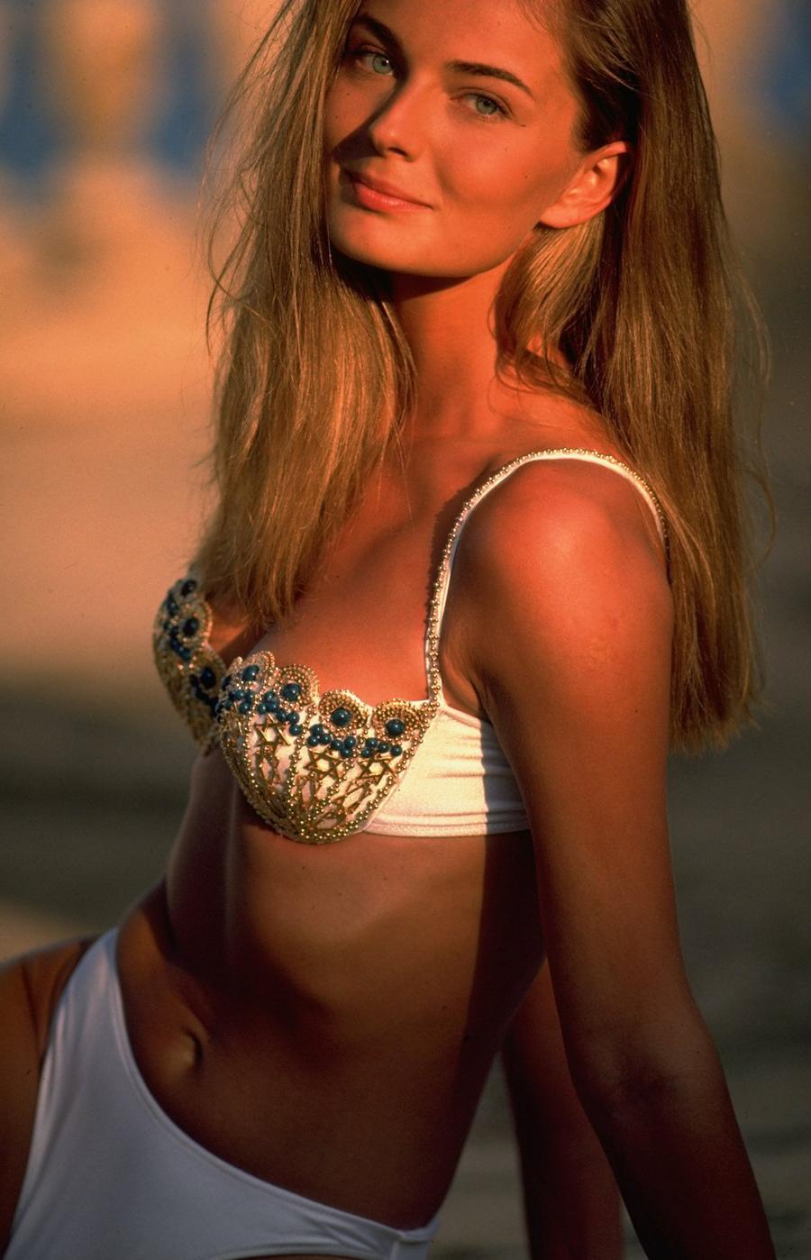 Paulina Porizkova in Spain, SI Swimsuit 1992