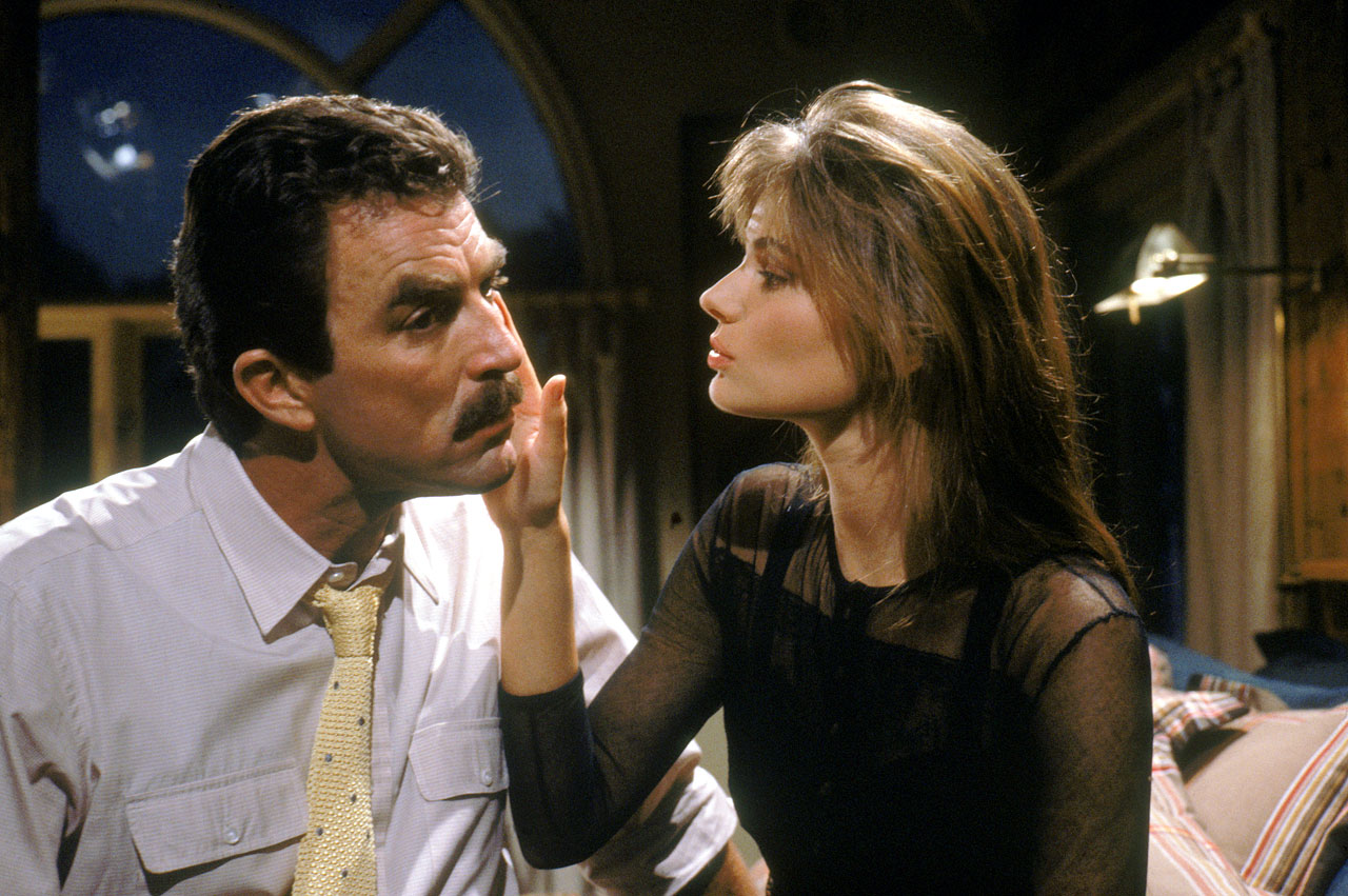 with Tom Selleck in Her Alibi (1989) -- Other notable films: Arizona Dream (1992), Thursday (1998)