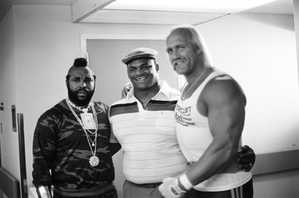 Mr. T, William Perry and Hulk Hogan :: Getty Images