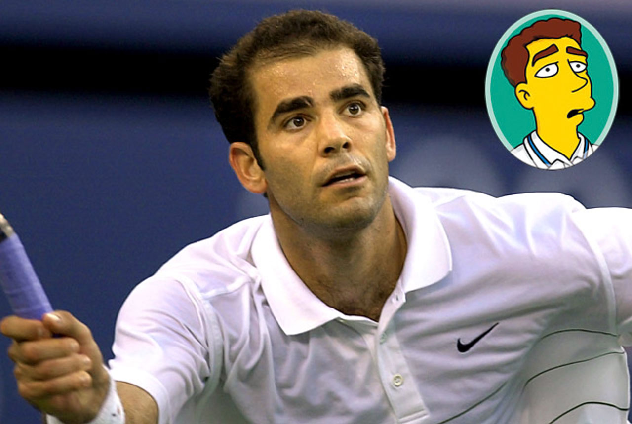 Memorable Moment — Sampras: ''C'mon, let's play! I've gotta tape a Ho Hos commercial.''