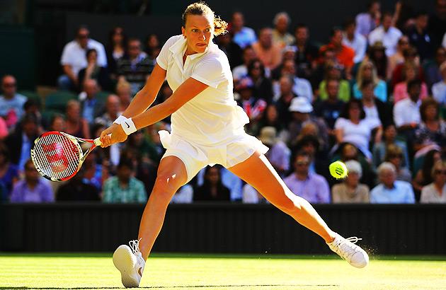 As she's wont to do, Petra Kvitova pushed Venus Williams to three sets.