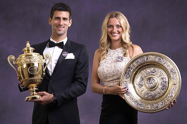 Presenting the 2014 Wimbledon champions.