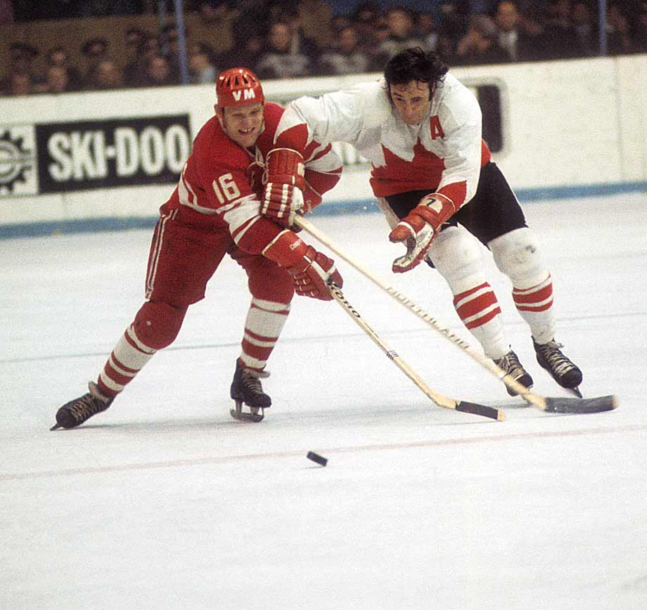 The three-time Olympic medalist was named the player of the year in the Soviet League in both 1972 and '73. Four times he led the Soviet League in scoring and four times he led was the leading scorer at the world championships. In all, he amassed 154 points in 102 games at the worlds. On the national team, Petrov played on a line with Boris Mikhailov and Valeri Kharlamov -- one of the most prolific trios in the history of the game. Petrov helped to usher in the post-Soviet era of hockey by serving as the president of the Russian Ice Hockey Federation during the 1990s. -- Brian Cazeneuve