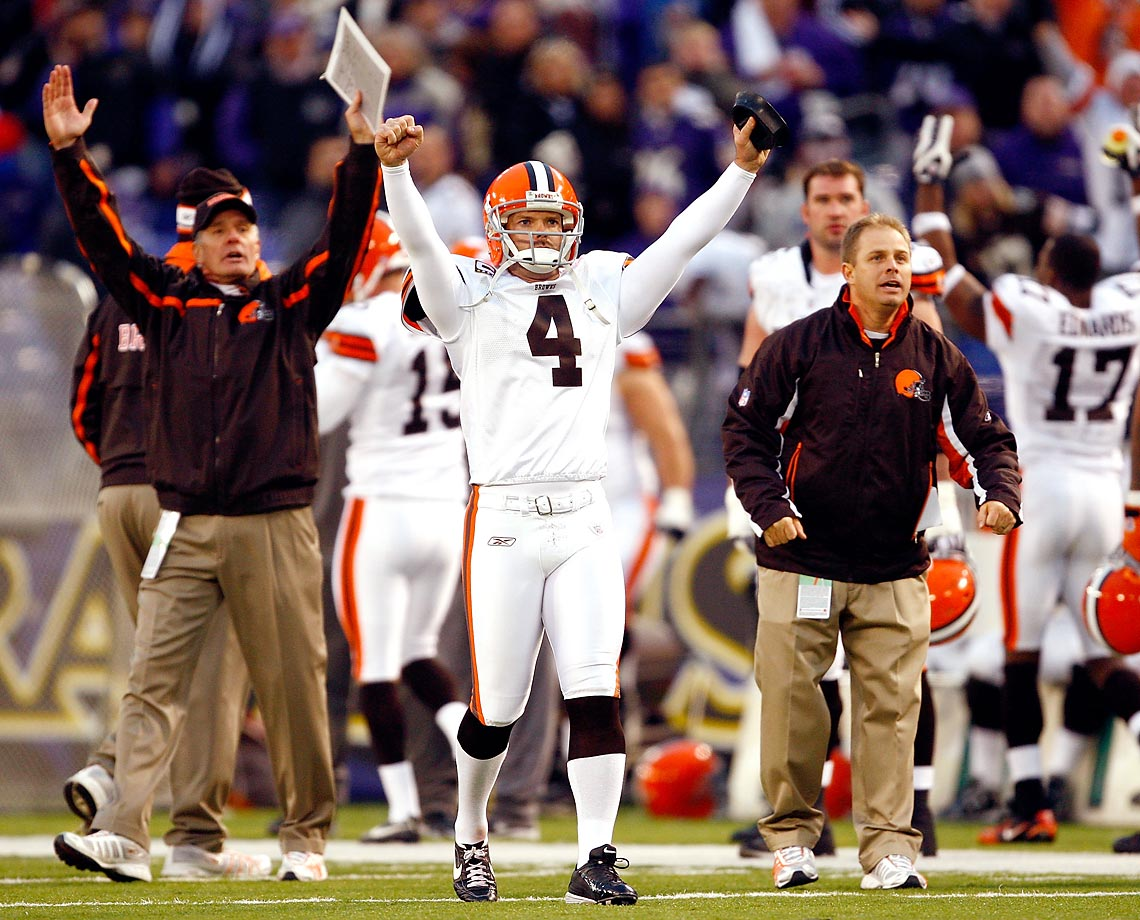 With the Phil Dawson Rule, field goals and extra point attempts that hit the uprights or crossbars are reviewable. The rule came after Dawson's 51-yard field goal against the Ravens with only seconds remaining was declared no good. Following a period of confusion, the officials then reversed the call after discussing, not reviewing, the play.