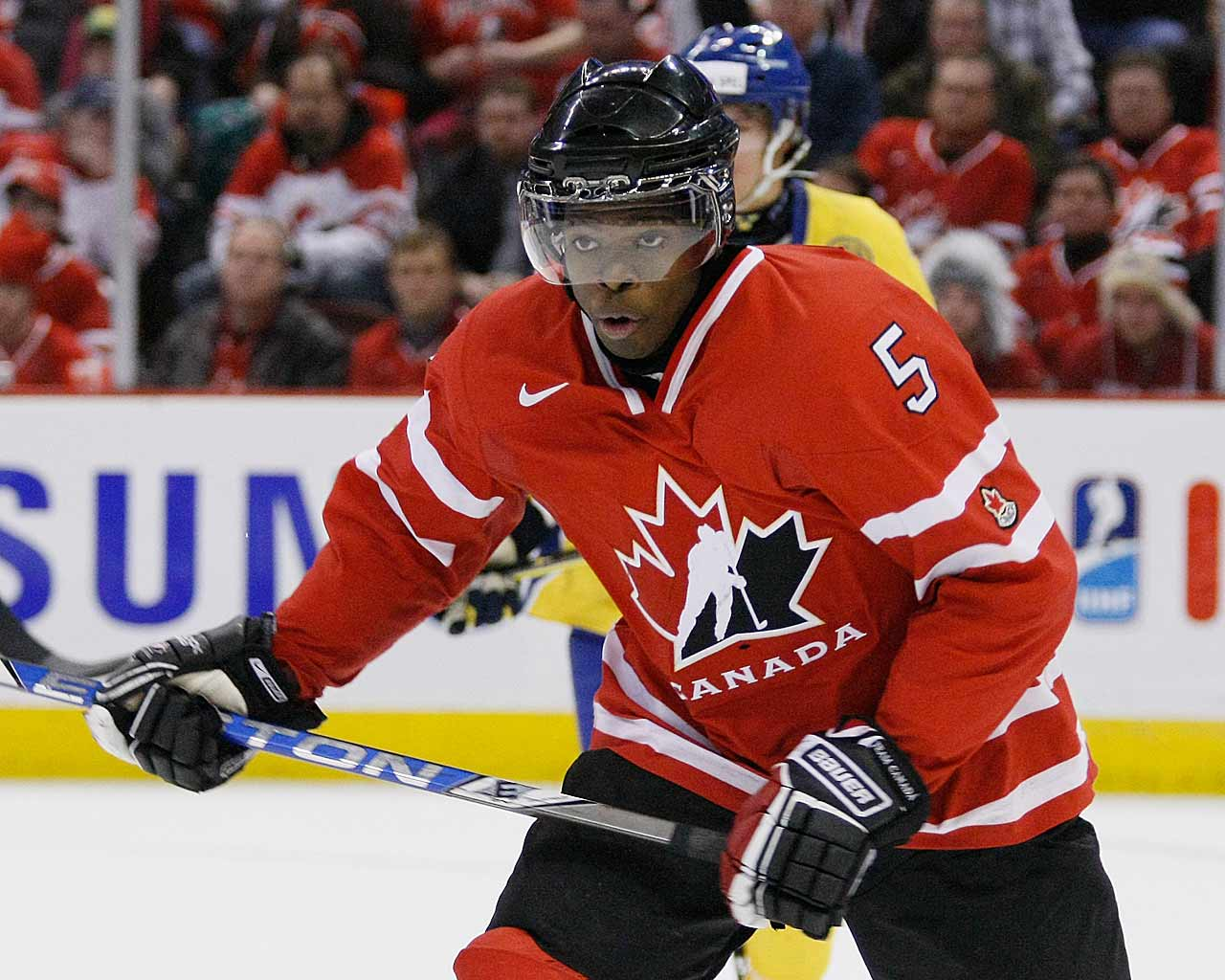 He was a lightning bolt of controversy in the lead-up to Team Canada's roster announcement, a player regarded as its most creative and dangerous offensive weapon on the blueline, but also one that is not trusted by his own coach to play in critical moments. In the end, the Canadian staff decided his speed and playmaking skills could make him a gamebreaker on the big ice. -- Allan Muir