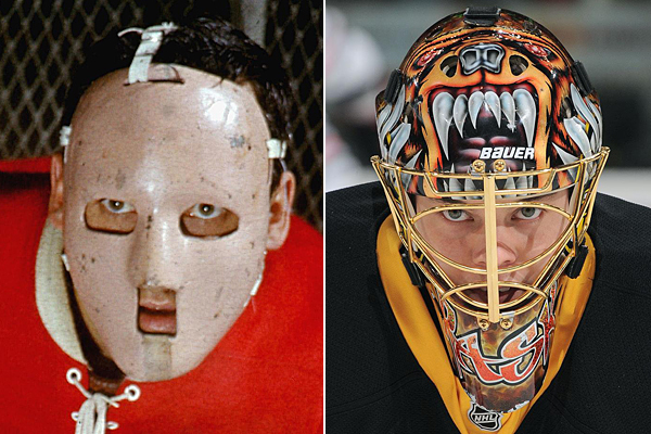 Jacques Plante and Tuukka Rask :: Getty Images