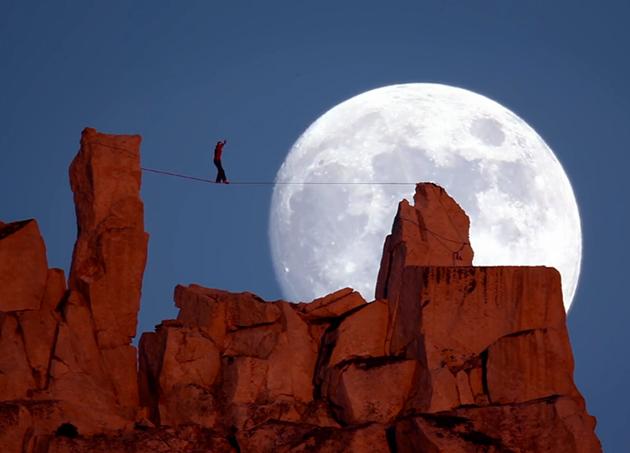 "What Potter calls ""The Moonwalk,"" at Yosemite National Park."