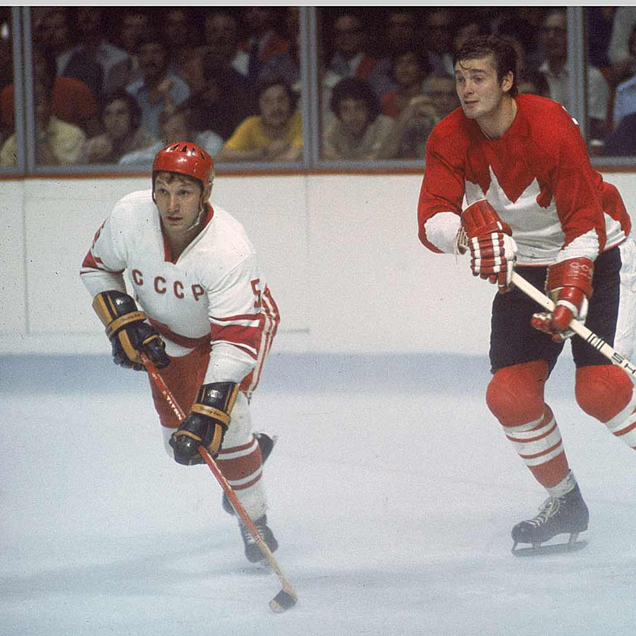 A Olympic gold medalist for the Soviets in 1964, '68 and '72, Ragulin was a crafty defenseman who was often assigned to play against opponents' most skilled forwards. During the Summit Series against Canada in '72, he marked Phil Esposito. Though never much a scorer, Ragulin was so effective at shutting foes down that he has been compared to Doug Harvey, the Canadiens' Hall of Fame defenseman. -- Brian Cazeneuve