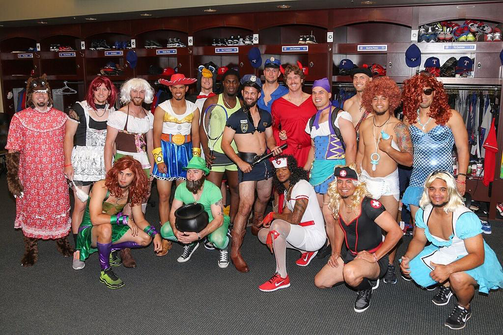 The Rangers entertained a wide array of options, including WTA athlete, Sexy Cowgirl Cop and a handful of disconcerting redheads.