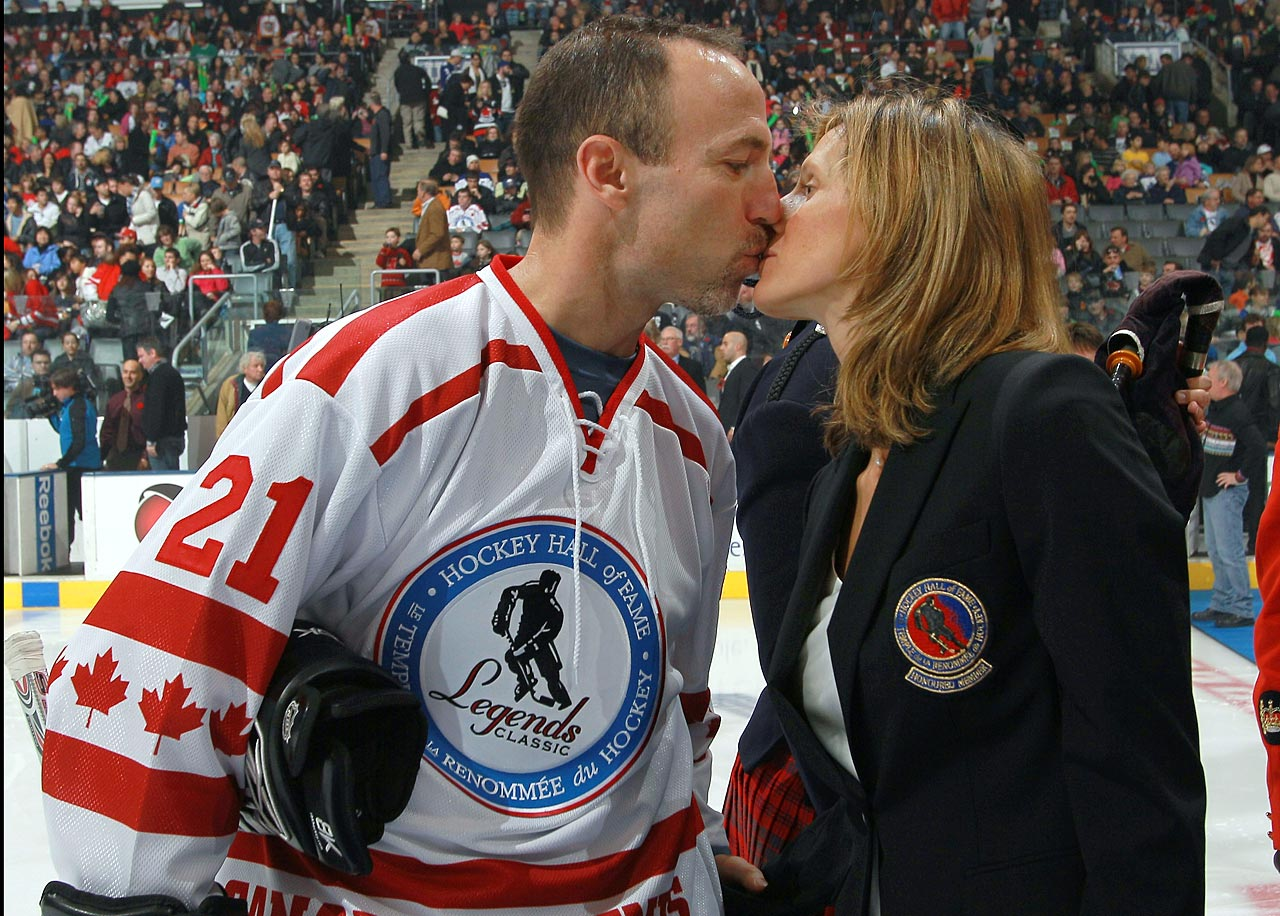 Granato led the U.S. women's hockey team to their first ever Olympic gold in the event in 1998, as well as a silver medal in 2002, while Ferraro was an 18-year veteran of the NHL. The two married in 2004. Both are tough as nails, which has come in handy when raising their two boys, Reese and Riley.