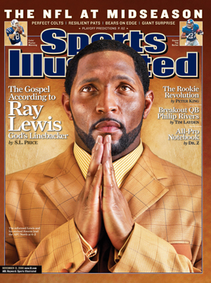 SI Vault  The Gospel according to Ray Lewis  29afc9380