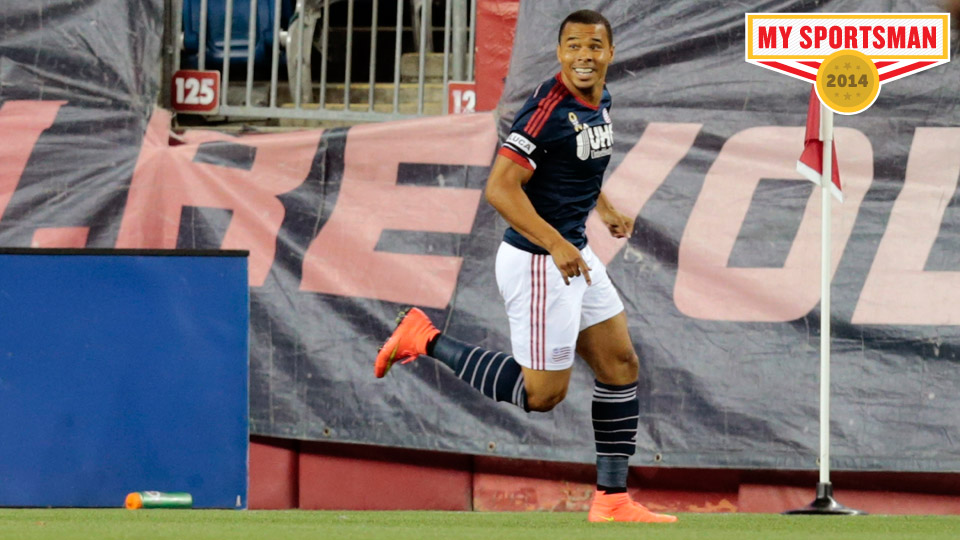 Davies celebrates his eventual game winning goal against the Chicago Fire.